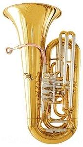 Bb junior tuba tubas Barítonos Brass Altura 827.5mm 367.5mm Campana tamaño de latón tubas instrumentos musicales profesionales con el caso y mouthpiec