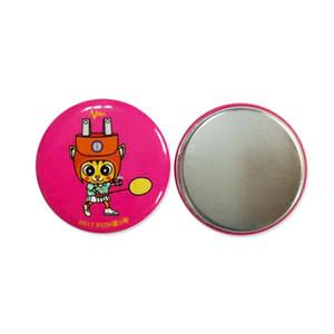 Giveaway homeuse souvenir a buon mercato promozionale doni frigorifero marca Logo Personalizzato stampa Round Square Tin frigorifero magnetico