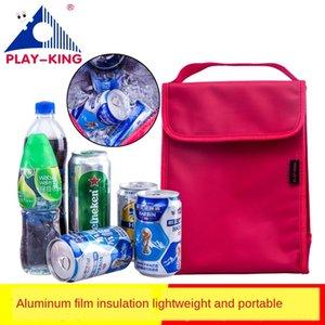 visualizzarloking isolamento esterno Nylon alluminio panno alluminio telo di nylon picnic stagnola sacchetto della scatola sacchetto del pranzo pranzo portatile