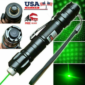100Mile Military 009 2in1 Green Laser Pointer Pen Star Cap Astronomy 5mw 532nm Powerful Cat Toy Amazing Pen only