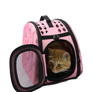 Pet supplies Pet Travel Shoulder Bag Out Carrying Folding Case Shell Space Box Portable Cat Puppy Breathable Diagonal Handbag