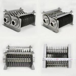 Frete grátis Carne cortador Blades definir em aço inoxidável para máquina de corte QE / QH / QSJ-A Modelo Meat