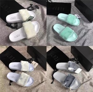 Popular Slippers For Girl 2020 H Solid Gladiator Soft Leather Round Toe H Shoes Fashion Princess Dress Slippers Summer#731#748