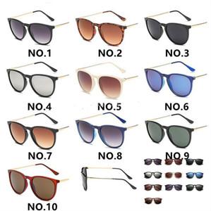 Tfnny Brand Design Hot 4171 النظارات الشمسية للرجل امرأة Erika نظارات مصمم العلامة التجارية نظارات الشمس مات ليوبارد التدرج uv400 عدسات 10 ألوان