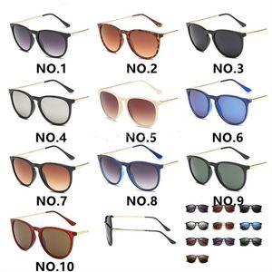 Sun ماركة نظارات شمسي مان 4171 لتصميم العدسات النظارات ليوبارد الساخن مصمم العلامة التجارية Tfnny نظارات المرأة erika gradient uv400 مات 10 col rkgn