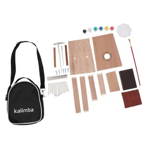 17 Key Kalimba DIY Set Thumb Piano Mbira Mbrimba Finger Musical Percussion