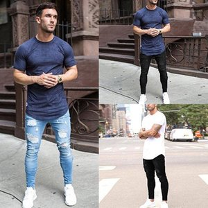 Pantaloni skinny jeans matita Street Style Uomo Autunno Estate Mens Designer Jeans Moda lavato e Distrressed