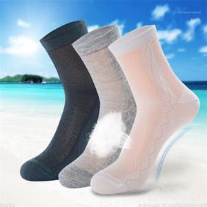 Men Athletic Socks Sport Basketball Long Cotton Socks Male Breathable Summer Running Cool Mesh Socks For All Size Hot