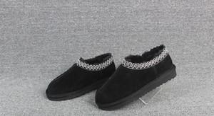 2019 discount Australie TASMAN Botte femme homme Classic hiver bottes SLIPPER Bottes de neige bottes pantoufles d'hiver WGG HOMME chaussures TASMAN Taille 34-44