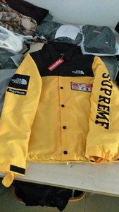 Homens Jacket Mapa Militar colete reflector blusão com capuz Designer Tamanho Brasão M-XXL dos homens Casacos Moda