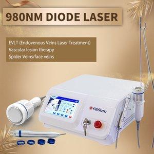 Верхний поставщик васкулярное удаление лазерное устройство spider veins treatment device 980nm diode laser портативная машина с невидимыми результатами