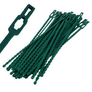 attache en plastique flexible usine réglable Twist Ties Jardin des plantes Twist vert Ties Multi Use 13cm 17cm 23cm