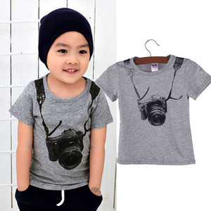 Baby Boys T-Shirts Tops Sportwear Outfits Kids Casual T-Shirts Short Sleeve Kid Boys T-Shirts Summer Clothes