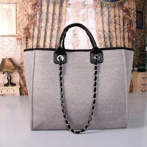 2020 Новая мода женщин сумки дамы дизайн твердый colid цвет алфавит вышивка браслет кожаный бумажник цепи мешок мешок Crossbody