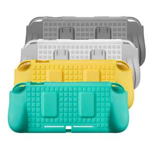 4 цвета силиконовый защитный чехол для N-Switch Lite Mini Console Hand Grip Protection Shell аксессуары с 2 игровыми картами слоты TPU Case