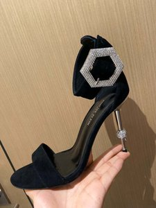 The latest ladies high heels in 2020 simple and stylish comfortable on the feet leather material 001
