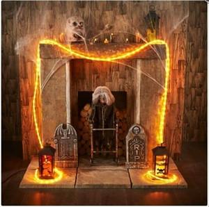 50M / 50leds Battery Operated stringa del LED delle luci leggiadramente Xmas Tree Wedding Party Decoration