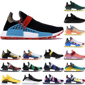 2020 Human Race BBC Multi Color Pharrell Oreo Nobel d'encre Hommes Chaussures de course meilleure qualité Pharrell Williams styliste pour femmes Chaussures 36-47