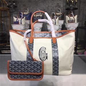 Marque Designer New Goyarrd GY sac à main sac double face sac de plage Goyar sac sérigraphique en cuir grande taille Livraison gratuite
