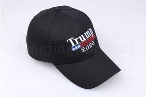 Trump 2020 Baseball Hat 3 Colors Keep America Great Cap Embroidery Outdoor Sun Hats 20pcs new OOA6999