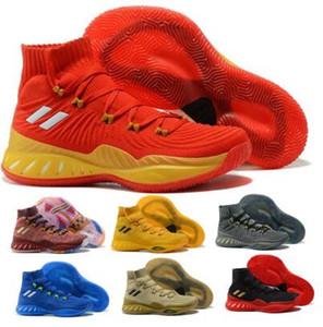 Мужские Сумасшедшие Взрывоопасные Носки Баскетбольная Обувь Кроссовки D Rose 2017 Vegas Белье Золото Алый Эндрю Уиггинс Высокое Качество Спорт 2020 Новая Обувь