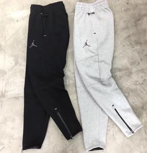 Pantalones de algodón espacio AJ Chinos flacos Joggers camuflaje de los hombres de la nueva manera Harem Pantalones Largo Color Sólido Hombres Pantalones