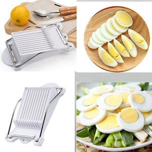 Нержавеющая сталь Meat инструменты кухни Кухня, Обеденный Бар Сыр вареное яйцо Slicer Фрукты Slicer Soft Food Cutter Многофункциональный инструмент кухни