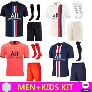 19 20 PSG JORDAN camiseta de fútbol 2019 2020 ICARDI camisa Paris Saint Germain NEYMAR JR MBAPPE soccer jerseys camisa cavani Survetement futebol kit CHAMPIONS camisa de futebol