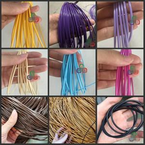 диаметр 2,5 мм сплошного цвета Круглой имитации Синтетического Ротанг ткачество Материал Пластик Knit Ремонт Стул Таблица ротанг PE