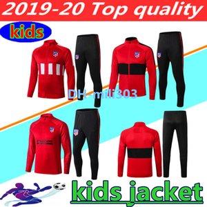 2019 2020 JOÃO FÉLIX Trainingsanzug für Kinder mit langem Reißverschluss und Jacke 19 20 JOAO FELIX-Chandal KOKE DIEGO COSTA KIDS BOYS Trainingsanzug für Fußballjacken