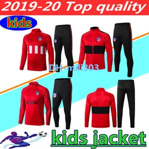 2019 2020 JOÃO FÉLIX chaqueta larga con cremallera para niños chándal 19 20 chandal JOAO FELIX KOKE DIEGO COSTA KIDS BOYS chaqueta de fútbol traje de entrenamiento