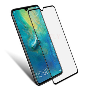 100 pz 9D Nova4 Vetro Temperato Per Huawei P Smart Y9 Y7 Pro 2019 2018 3i 3 Mate 20 Lite Screen Protector On Honor 10 8X Film Full Cover