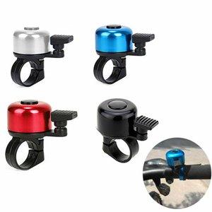 Мини-Безопасность Велоспорт Handlebar Металлическое кольцо Черный велосипед Bell Рог Звук сигнализации велосипедов Аксессуар Открытый Защитные Bell Ring