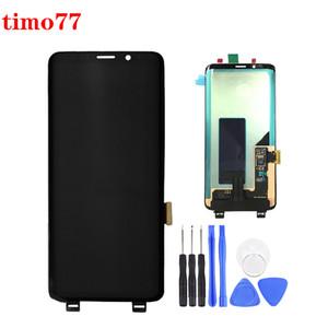 El precio original de fábrica para Samsung Galaxy S9 Plus pantalla LCD de pantalla táctil digitalizador G965 100% probado con adhesivos