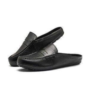 Mens Waterproof Slippers Outdoor Man Sandal Summer Shoes Men Casual Home Slipper Mens Slide Flip Flops Sandals Pantofole Uomo