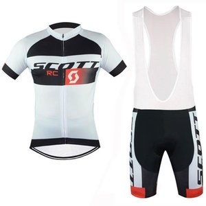 2020 Scott Cycling Jersey Pro Team Short Sleeve Bicycle Clothing Bike Sportswear Men \&#039 ;S Breathable Quick Dry Summer Mens Cycling Cl