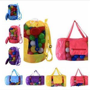 KidsDesigner Bolsas Sand Beach Treasures Brinquedos Bolsa Tote malha Childrens armazenamento saco de praia Conchas Ferramenta Bag Bolsa Crianças Organizador Bags C539