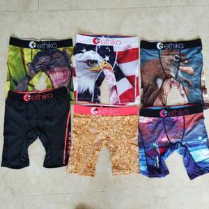 Promotion !! au hasard styles Ethika sous-vêtements accise rock sports sous-vêtements de boxeur Kid hip hop planche à roulettes rue de la mode rapide de coton sec