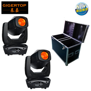 New Arrival Flightcase 2in1 lyre LED 200w Moving Head Beam Spot Wash 3in1 Moving head Light