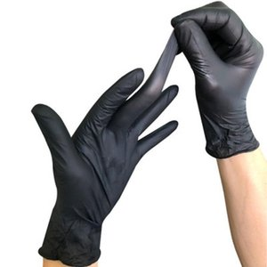 Gloves Home 100pcs Gloves Disposable Food Nitrile Latex Universal Household Garden Cleaning Gloves Anti-skid Rubber Glove Dbc Bh3298