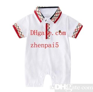 Baby s clothes Summer Jumpsuit Baby s thin short-sleeved jacket Climbing clothes Neonatal pure cotton summer clothes
