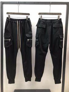 Calças Homens O novo 19ss Owen Seak Homens Casual Hallen Calças 100% roupa Sweatpants Primavera mulheres dos homens Gothic Cotton sólidos a granel Pants1