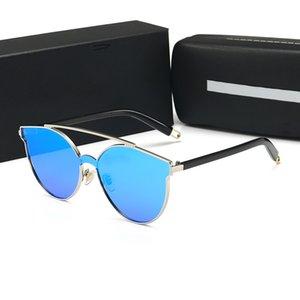 Sunglasses 2020Women Popular Fashion Square Big Half Frame Sunglasses Fashion Women Style Come With Pink Case