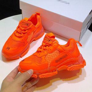 2020 1children's sports shoes sale designer children's shoes neon light yellow box high quality children's shoes boy luxury