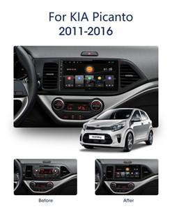 Android9.0 RAM 2G ROM 32G Lettore DVD dell'automobile per KIA Picanto 2011-2014 auto navigazione multimediale audio radio stereo auto