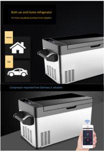 OTEJM auto Frigorifero silenzioso Bluetooth APP Intelligent Camping controllo. Au Fridgeto Frigo 12 V / 24V, Passeggero auto e camion Auto Frigo