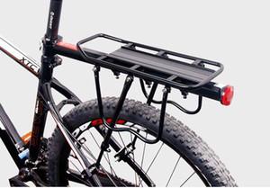 Mountain Bike transportadora de carga traseira da cremalheira do assento prateleira de bicicleta bagagem de aço cremalheira é possível carregar alta qualidade frete grátis
