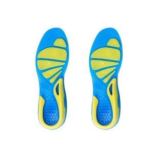 Orthopedic Insole Stable Sport Non-Slip Cushion Military Insert Unisex Shoe Pad Walking TPE Foot Care Shock Absorption Running