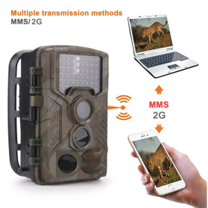 Trail Hunting Camera HC800M 16MP 2G MMS SMS Email Infrared Mobile Cameras Photo Traps 1080P Wireless Cellular Cams HC800A T191016