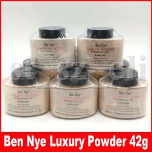 10 colores Ben Nye polvo de lujo nuevo natural 42g cara polvo suelto impermeable nutritivo plátano iluminar de larga duración 1,5 oz